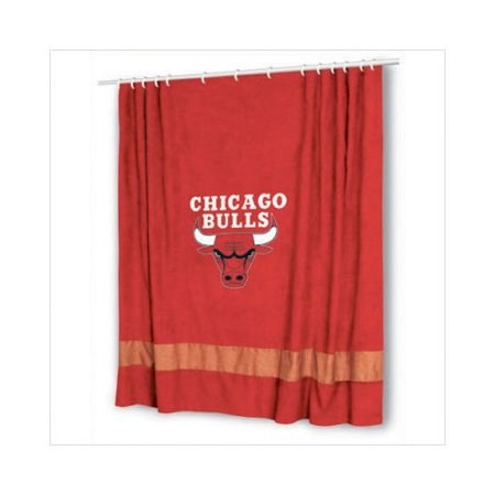 Sports Coverage Inc Chicago Bulls Shower Curtain