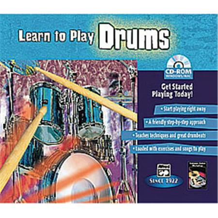 Alfred 00-22605 Apprendre - jouer Drums - Music Book - image 1 de 1