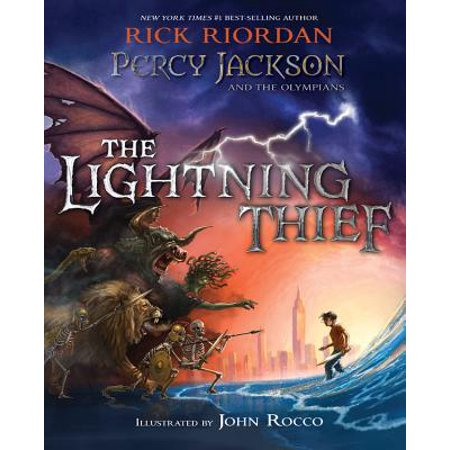 Percy Jackson And The Olympians The Lightning Thief Hardcover