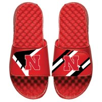 Nebraska Cornhuskers ISlide Varsity Starter Jacket Slide Sandals - Red