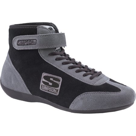 Simpson Driving Shoes (Simpson Racing MT105BK Midtop Racing Shoe Size 10.5 )