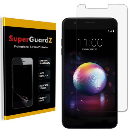[4-Pack] For LG K30 / LG K10 (2018) - SuperGuardZ Ultra Clear Screen Protector, Anti-Scratch, Anti-Bubble