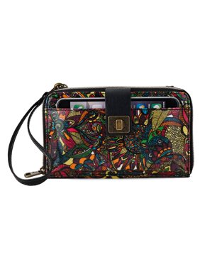 923d6c3a4 Product Image Sakroots Women Artist Circle Large Smartphone Crossbody One  Size Black US