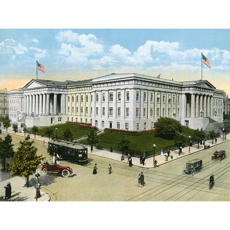 Washington Dc Usa   Us Patent Office Poster Print By Mary Evans  Grenville Collins Postcard Collection