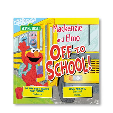 Sesame Street: Off to School! - Personalized Book