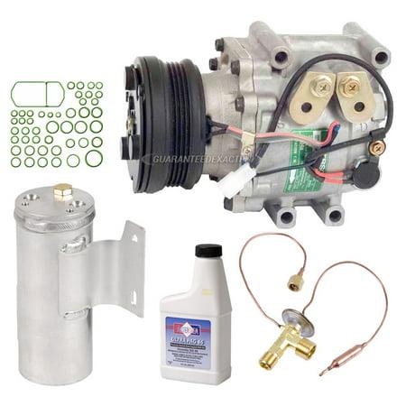 For Mazda Protege 1995 1996 1997 1998 OEM AC Compressor w/ A/C Repair Kit 1998 Mazda Protege Type
