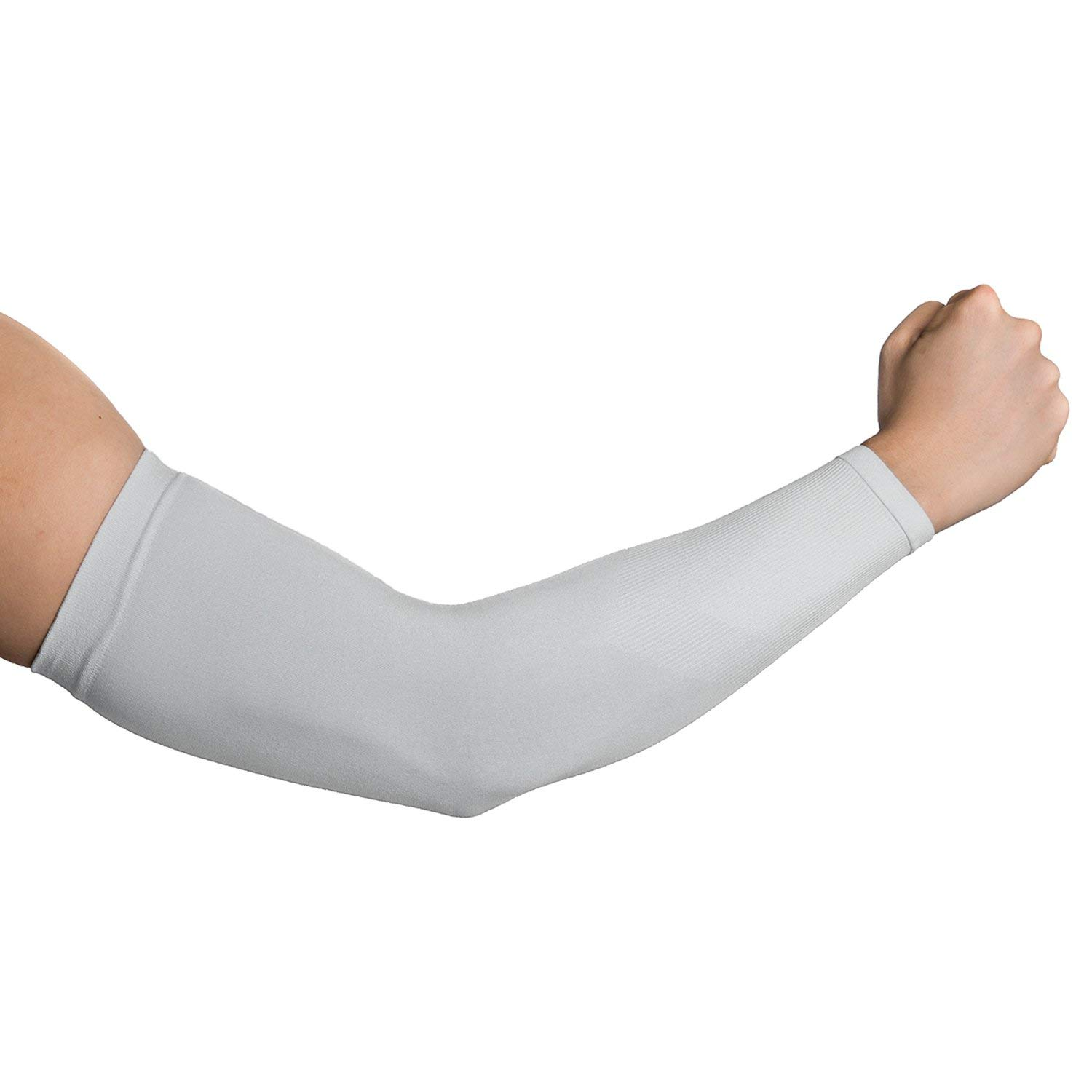 1 Pairs Cooling Arm Sleeves Outdoor Sport Basketball UV Sun Protection Arm Cover