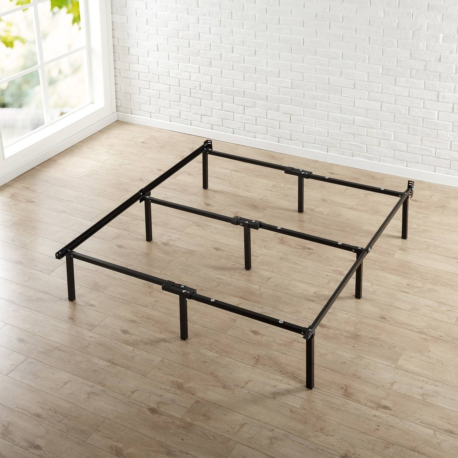 """Spa Sensations by Zinus 12"""" High Compack Bed Frame"""