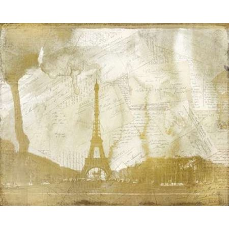 Letters from Paris Poster Print by Kimberly Allen