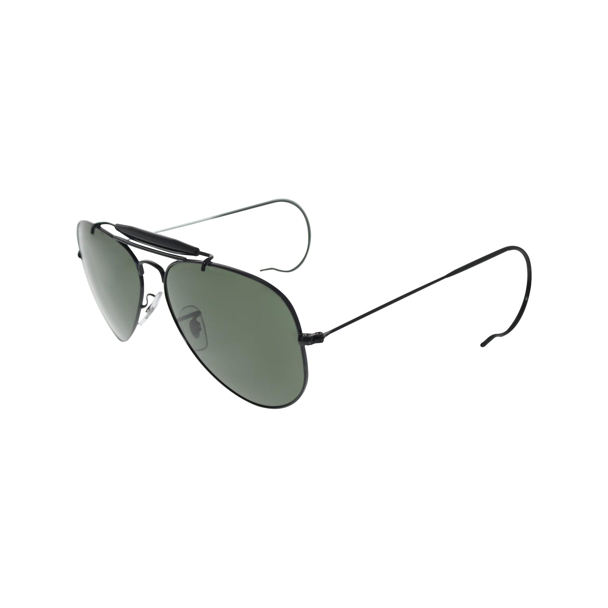 Ray Ban Men S Outdoorsman Rb3030 L9500 58 Black Aviator Sunglasses