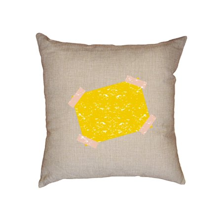 Gone Fishing - Away Note with Tape - Fishin' Decorative Linen Throw Cushion Pillow Case with