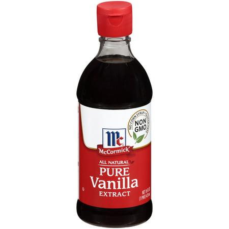 McCormick All Natural Pure Vanilla Extract, 16 fl (Deluxe Vanilla Extract)