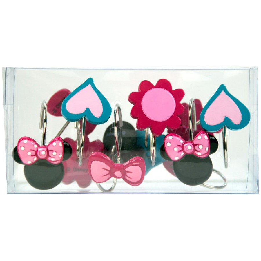 Disney Minnie Mouse Shower Hooks