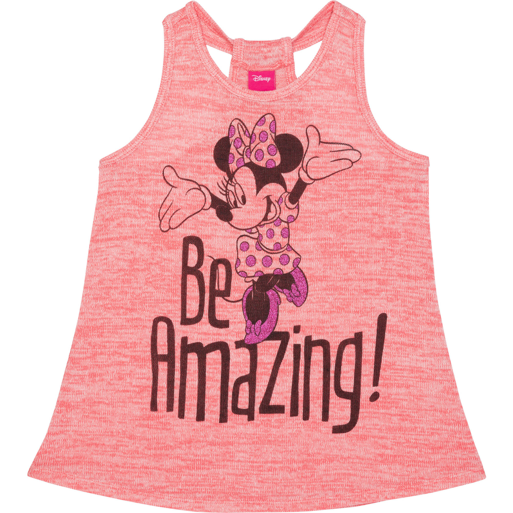 Minnie Mouse Girls' Be Amazing Peplum Tank