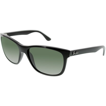Ray-Ban Optical 0RB4181 Non Polarized Square Sunglasses for Unisex - Size - 57 (Crystal Green)
