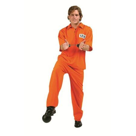 Male Convict Costume](Prison Convict Costume)