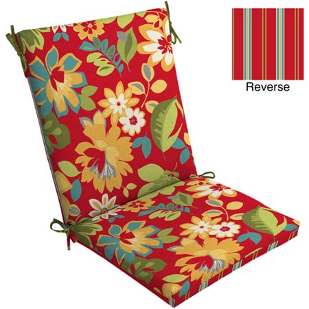 Mainstays Dining Chair Outdoor Cushion Walmart Com