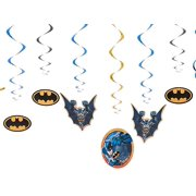 Batman Hanging Party Decorations, 12pc