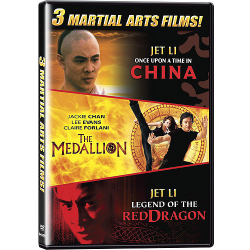 Martial Arts Triple Feature: The Medallion / Once Upon A Time In China / Legend Of The Red Dragon (Widescreen)