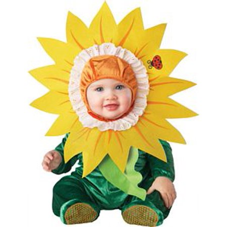 Silly Sunflower Baby Costume by InCharacter - 16008