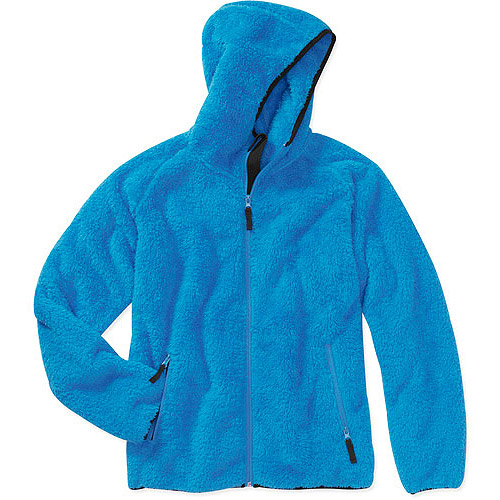 Iceburg Women's Plus-Size Iceland Fuzzy Fleece Hoodie