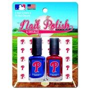 2 Pack Nail Polish MLB Philadelphia Phillies