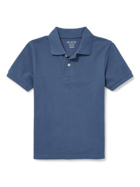 The Children's Place Short Sleeve Solid Polo (Little Boys & Big Boys)