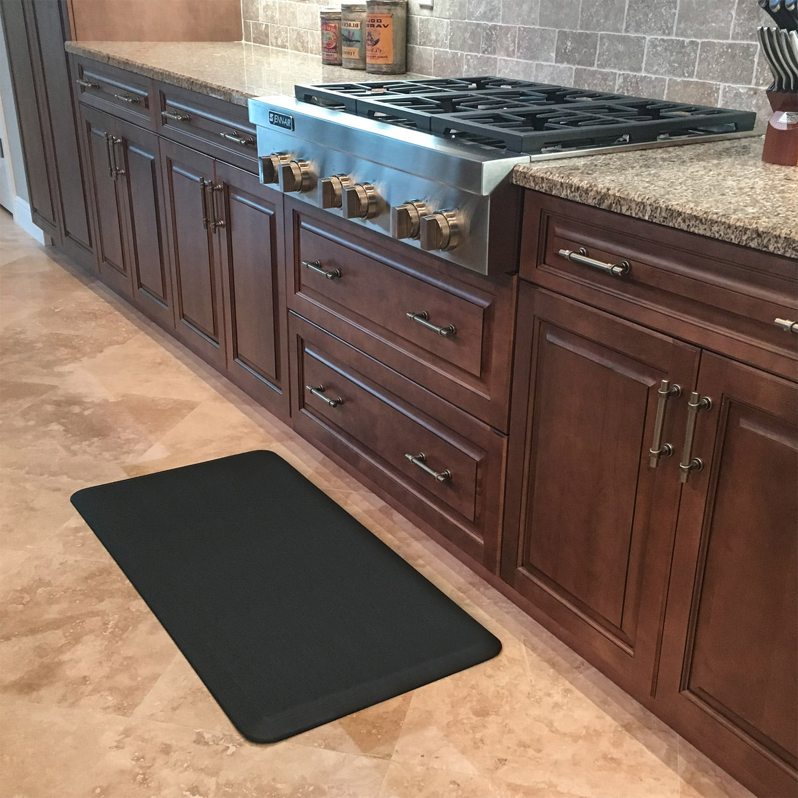 Anti Fatigue Kitchen Mat, Standing Desk Mats, ¾u201d Commercial Grade Comfort  (Black)   Multiple Sizes Available   Walmart.com