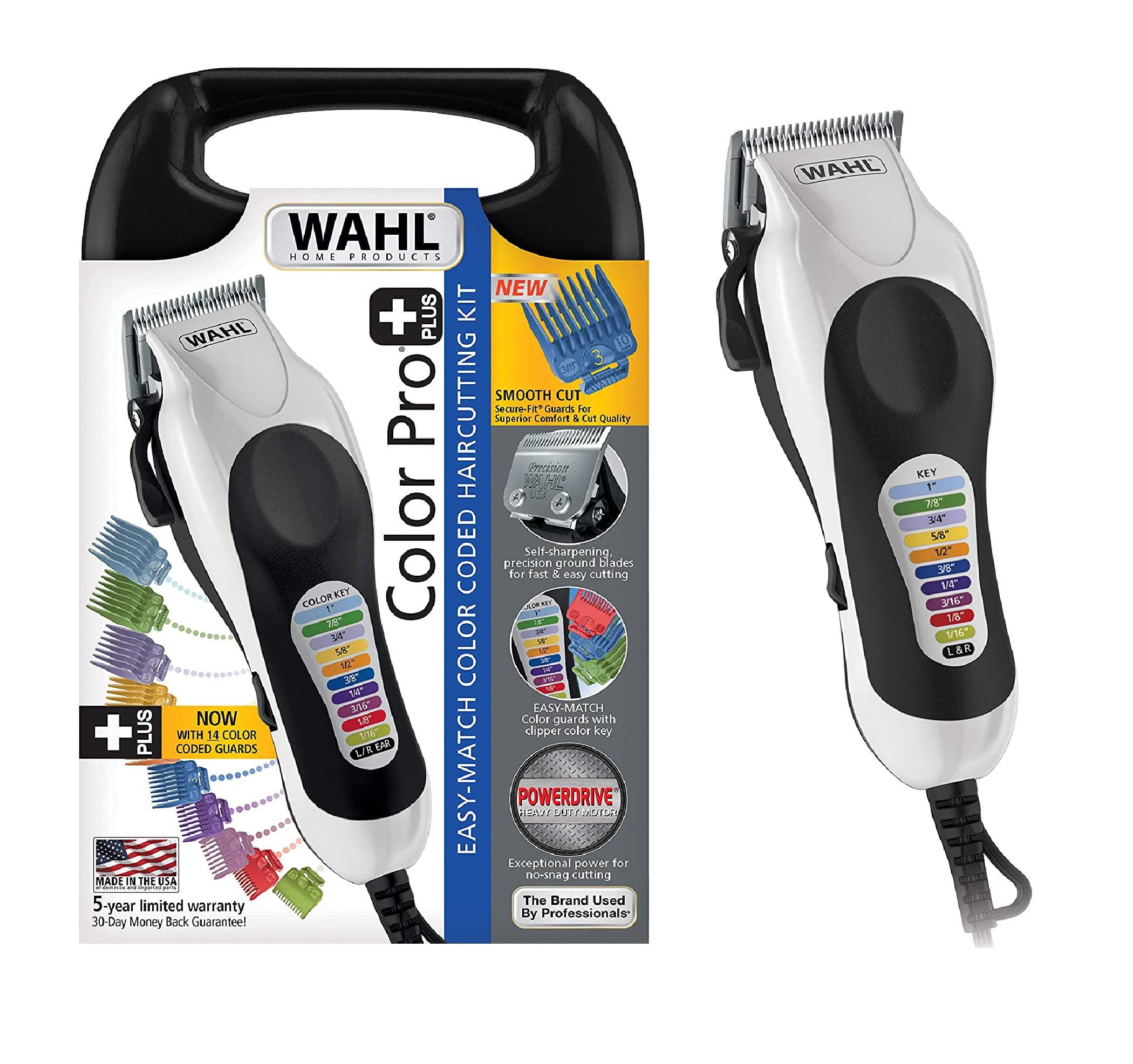 Wahl Color Pro Plus Haircut Clipper Kit, 79752T
