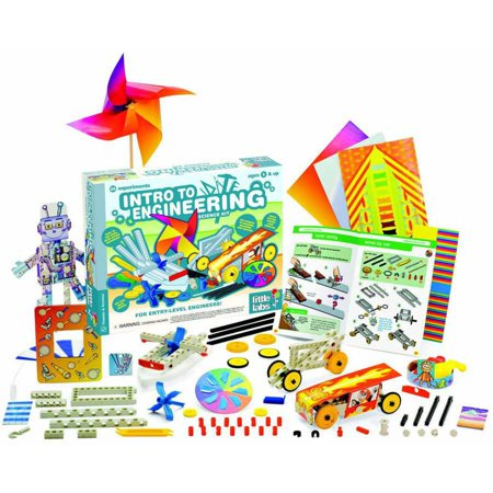 Little Labs: Intro to Engineering - Science Kits by Thames & Kosmos - Girls Engineering Toys