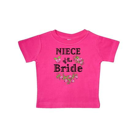 Niece of the Bride Roses Baby T-Shirt (Bride Onesie)