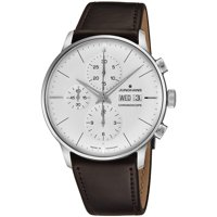 JUNGHANS Meister Chronograph Automatic Silver Dial Men's Watch