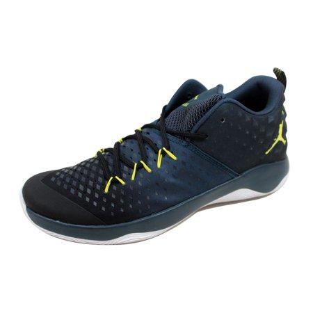 2694837ec7b2 Nike - Nike Men s Air Jordan Extra Fly Black Electrolime-Armory Navy ...