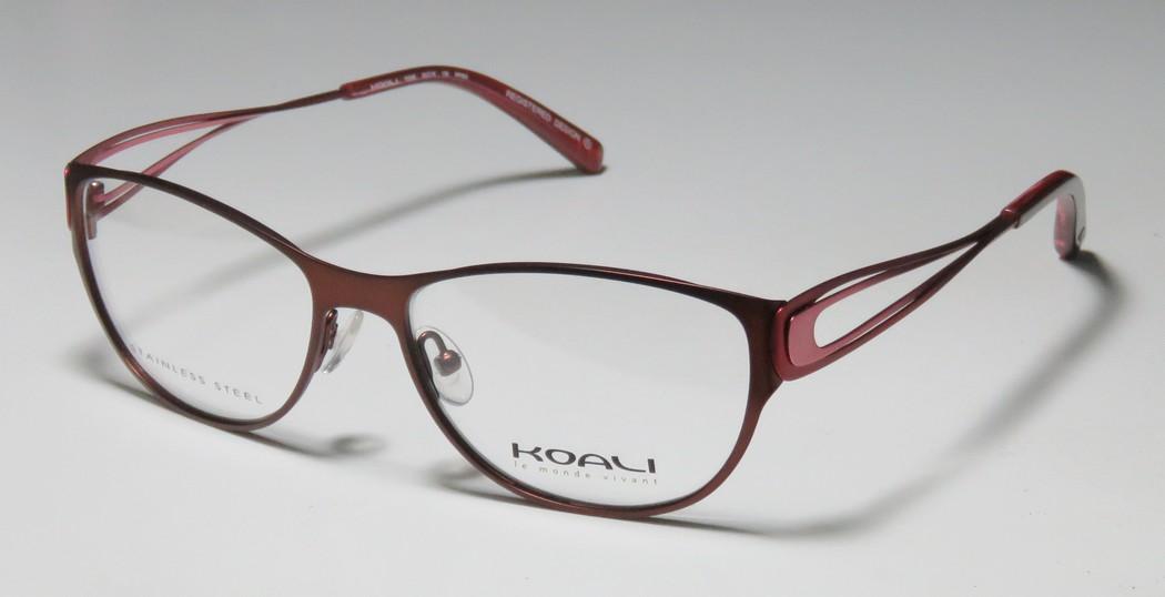 New Koali 7258k Womens/Ladies Designer Full-Rim Brown / Raspberry ...