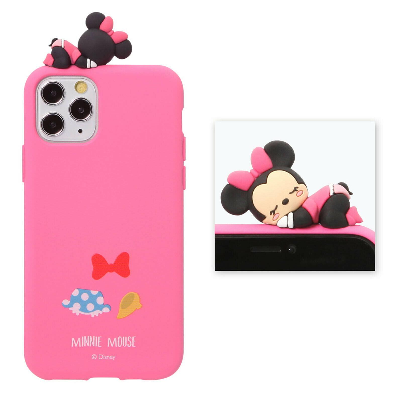 Disney Minnie Mouse Sleep Figure Jell Slim Protective Rubber Phone Case Cover For Iphone 11 Pro Max Walmart Com Walmart Com
