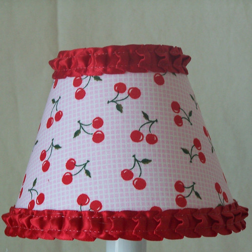 Silly Bear Lighting Sweet Cherry Table Lamp Shade