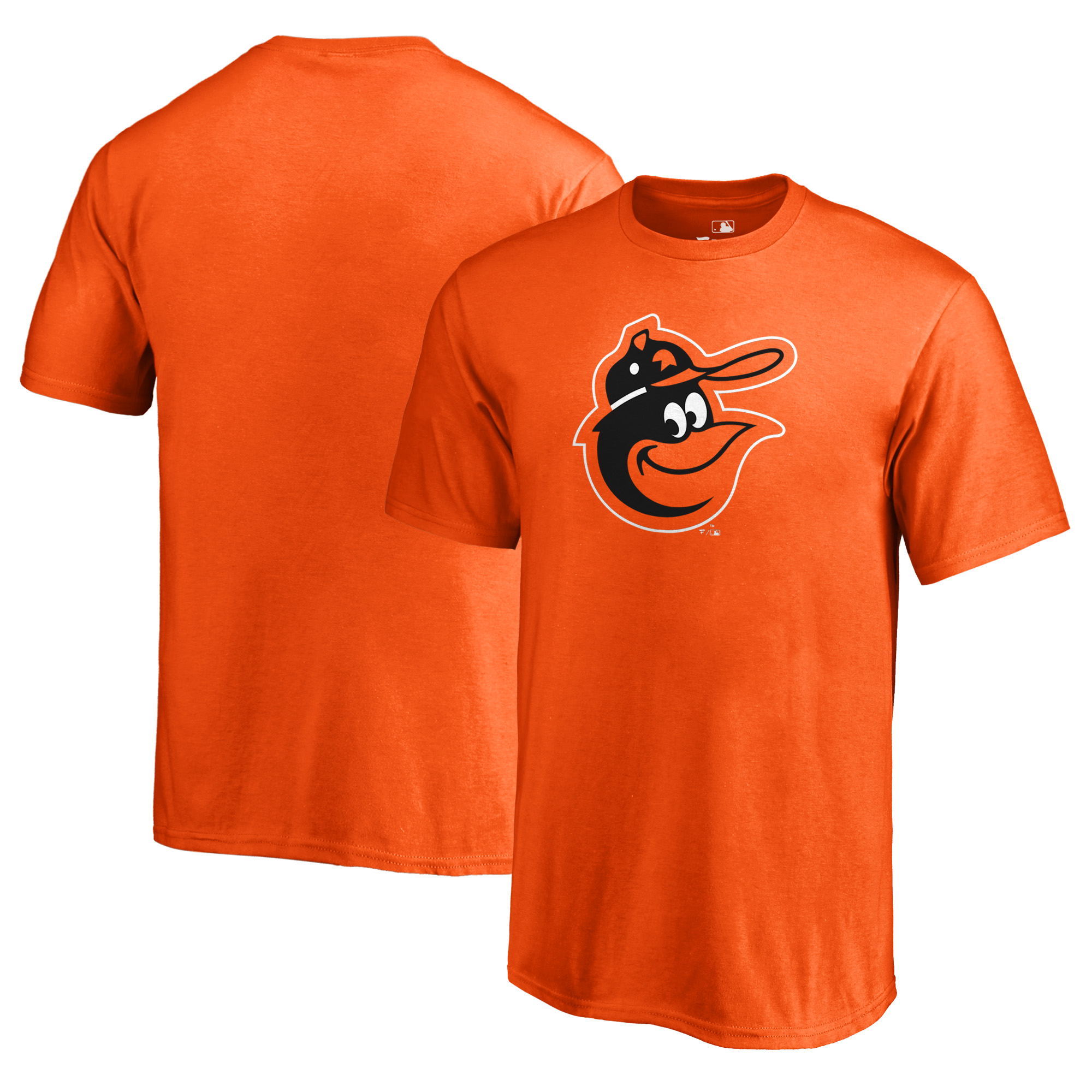 Baltimore Orioles Fanatics Branded Youth Cooperstown Collection Huntington T-Shirt - Orange