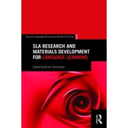 SLA Research and Materials Development for Language Learning - eBook