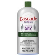 Best Dishwasher Rinse Aids - Cascade Platinum Dishwasher Rinse Aid, 30.5 fluid ounce Review