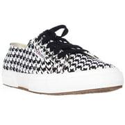 Womens Superga 2750 Piedepoulew Fashion Sneakers - White/Black
