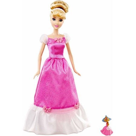 Disney Princess Cinderella Doll and Suzy Mouse Figure Set (Disney Princess Cinderella Tiara)