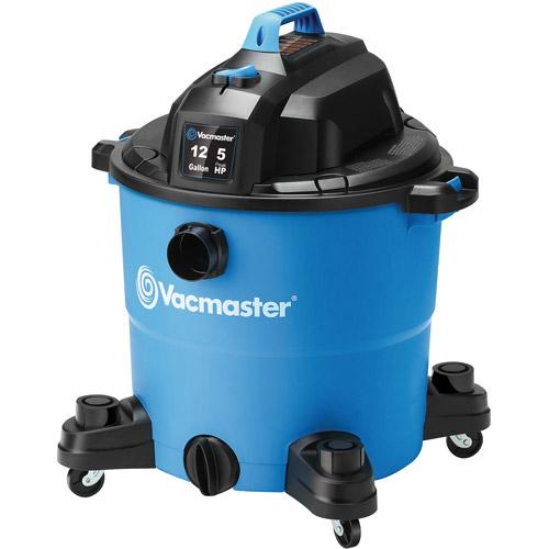 Vacmaster 12-Gallon 5.0-Peak HP Wet/Dry Vac, VJC1210PF
