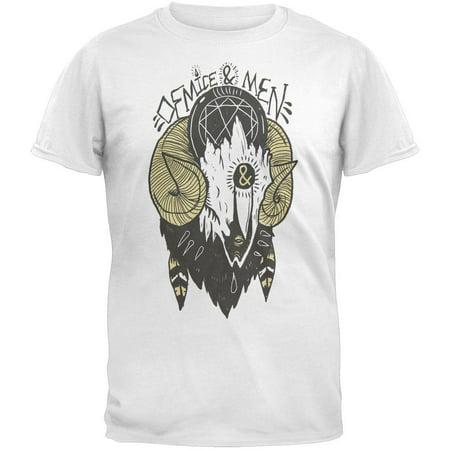Of Mice And Men - Ram Skull T-Shirt (Of Mice And Men Merchandise)