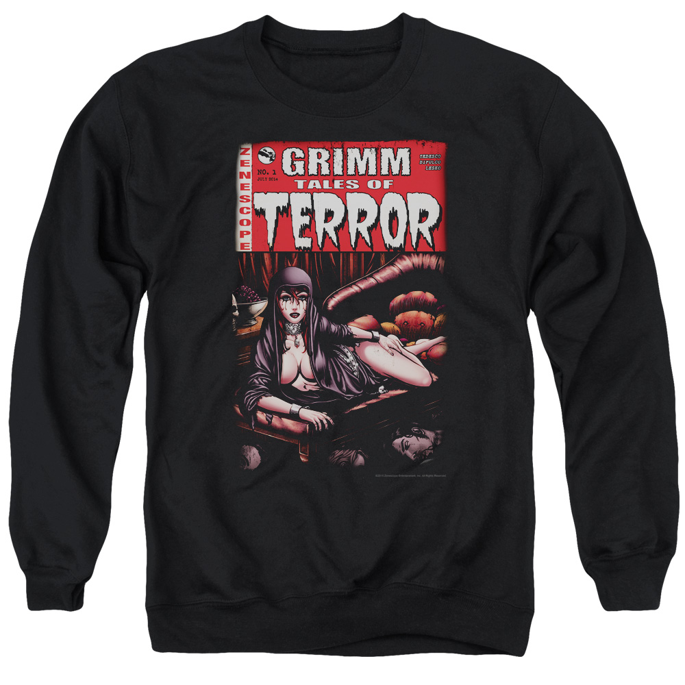 Zenescope Terror Cover Mens Crewneck Sweatshirt