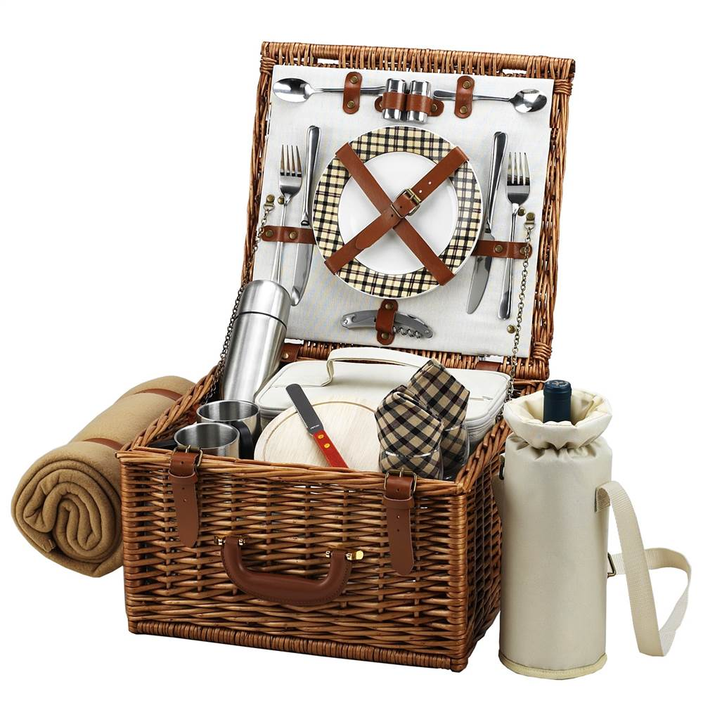 London Cheshire Picnic Basket for Two by Picnic at Ascot