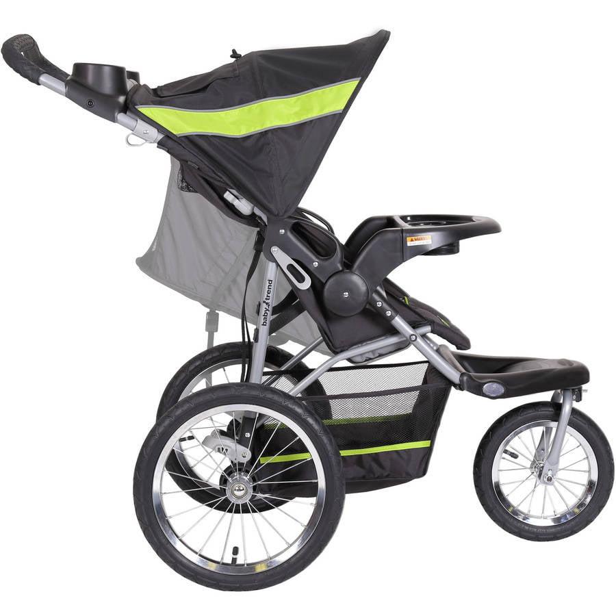 Baby Trend Millennium Jogger Travel System Green With Diaper Bag Value Bundle Walmart Com