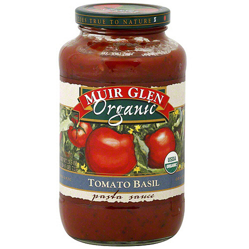 Muir Glen Tomato Basil Pasta Sauce, 25.5 oz (Pack of 6)