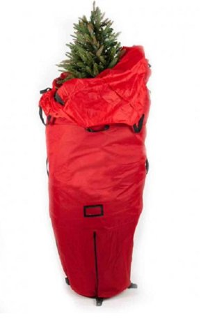 94 Red Heavy Duty Upright Artificial Christmas Tree Storage Bag For 6 8 Trees