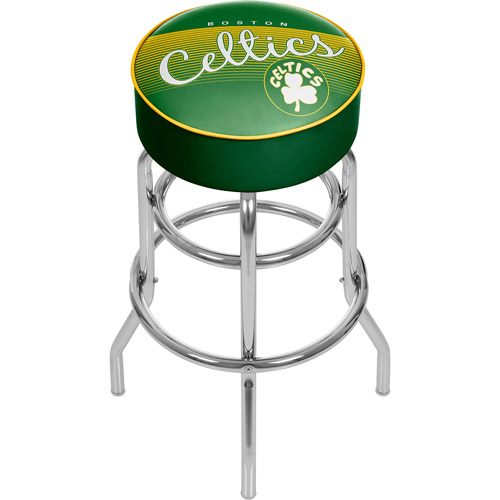 Boston Celtics NBA Hardwood Classics Padded Swivel Bar Stool