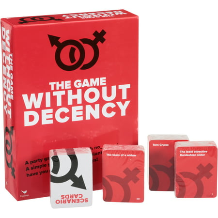 Cardinal® The Game Without Decency Game Box